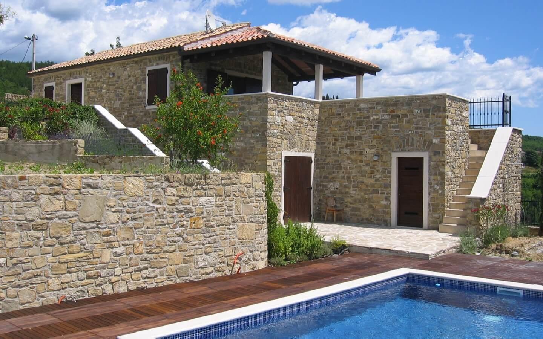 Casa Bastion, Ferienhaus mit Pool bei Motovun, Istrien, Kroatien