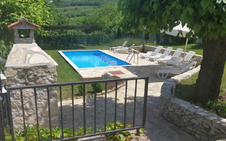 Haus Valentino, Ferienhaus mit Pool bei Motovun, Istrien, Kroatien