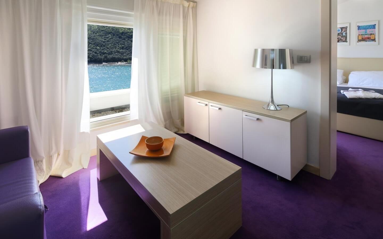 Boutique Hotel Adoral, direkt am Meer in Rabac, Istrien, Kroatien