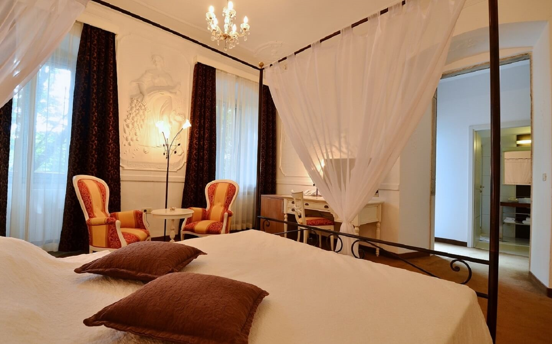 Hotel Kastel in Motovun, Istrien, Kroatien