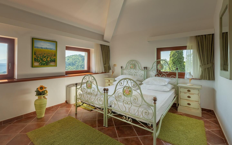 Hotel Palazzo Angelica, Oprtalj, Istrien, Kroatien.