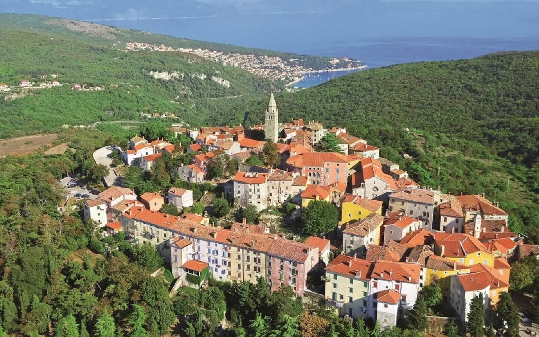 Hotel Peteani in Labin, Istrien Ostküste, Kroatien
