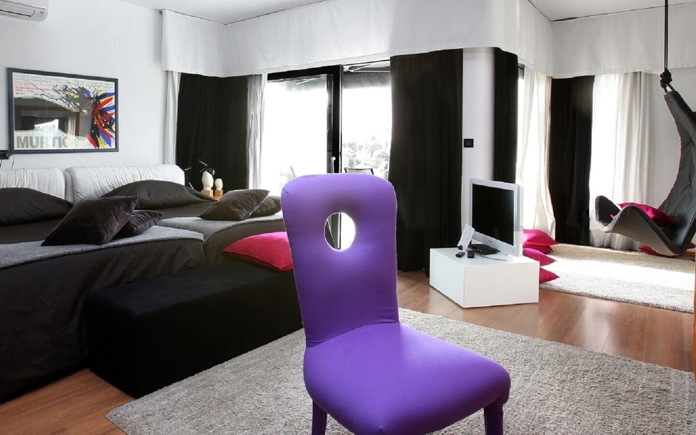 Design Hotel Valsabbion, direkt am Meer bei Pula, Istrien, Kroatien.