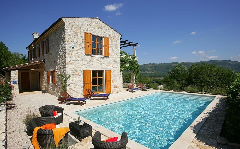 Casa Lucia, Ferienhaus mit Pool bei Motovun, Istrien, Kroatien