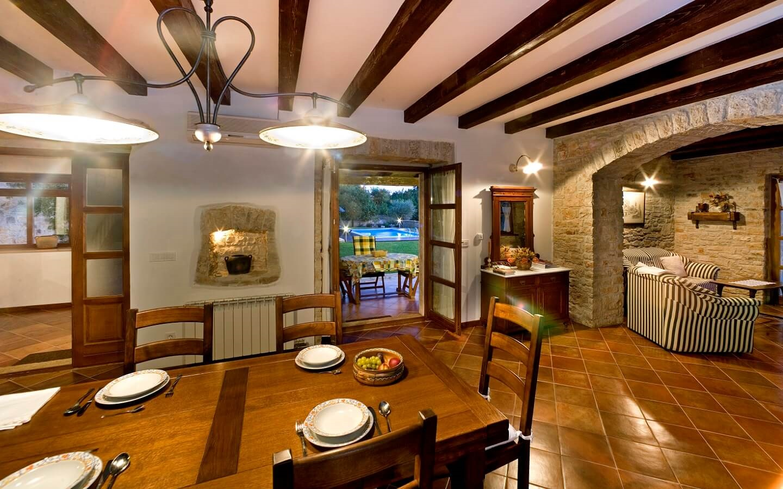 Casa Nini, Ferienhaus mit Meerblick und Pool bei Porec, Istrien, Kroatien