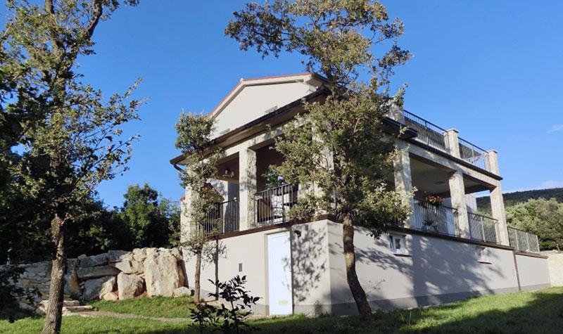 Istrien Ostküste: Ferienhaus mit Pool und Meerblick - Istrien Pur