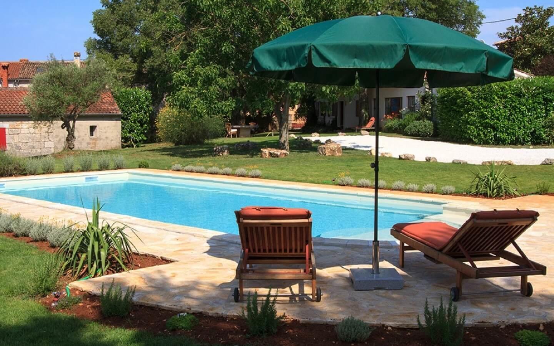 Casa Gaia, Ferienhaus mit Pool in Gambetici, Istrien, Kroatien