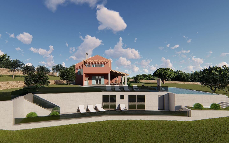 Villa Cali, Ferienhaus mit Pool bei Oprtalj, Istrien, Kroatien