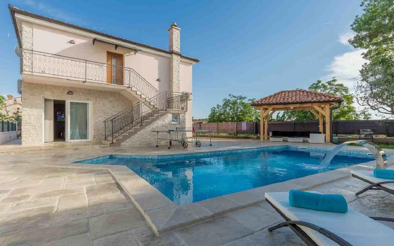 Villa Loki, Ferienhaus mit Pool in Lasici, Istrien, Kroatien