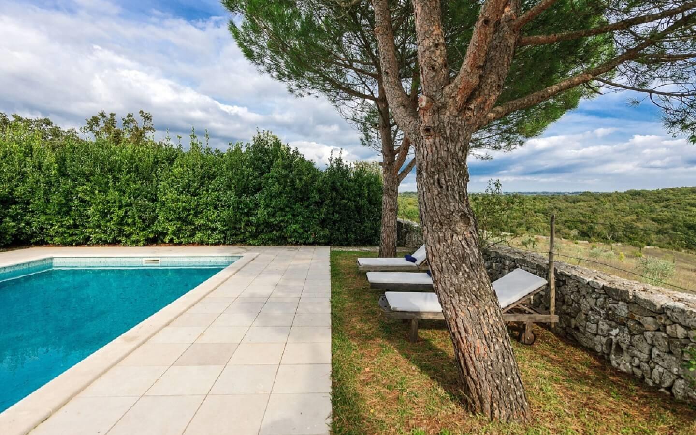 Stancija Mamu, Ferienhaus mit Pool bei Rovinj, Istrien, Kroatien