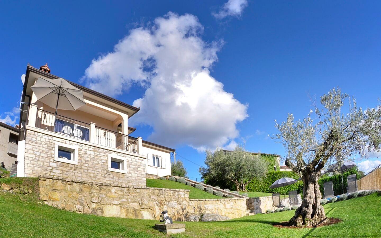 Villa Tatjana, Ferienhaus mit Pool in Vizinada, Istrien, Kroatien
