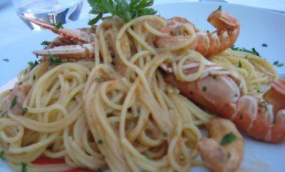 """Das Rezept des Monats """"Pasta mit Meeresfrüchten aus Istrien"""""""