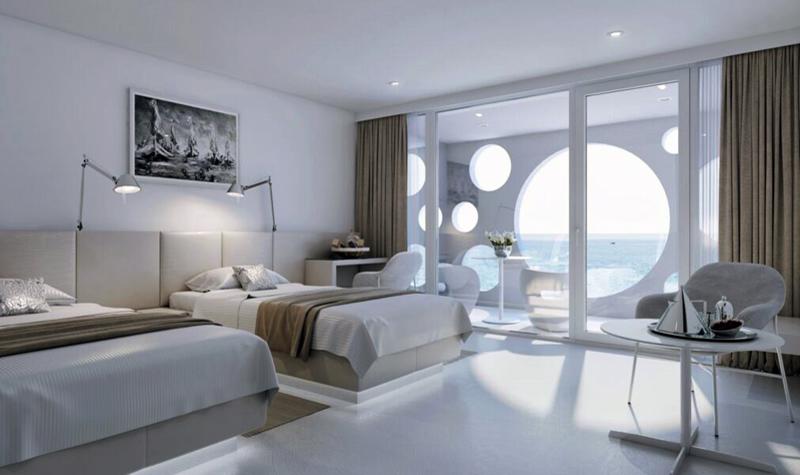 Todschickes design hotel direkt am meer in novigrad for Design hotels am meer