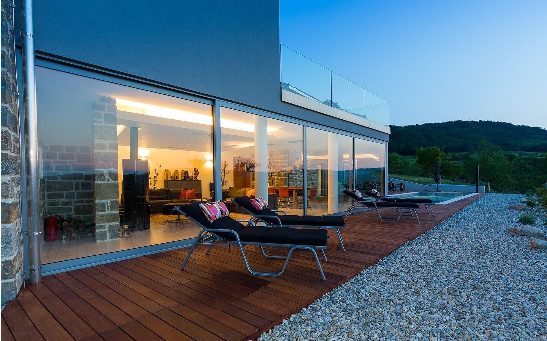 Villa Akazija, Ferienhaus mit Pool bei Buzet, Istrien, Kroatien