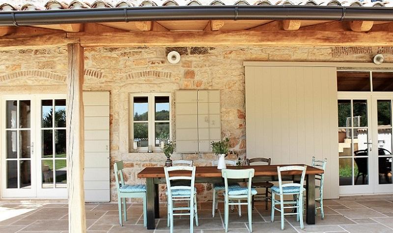 charmantes ferienhaus mit pool f r sechs personen istrien pur. Black Bedroom Furniture Sets. Home Design Ideas