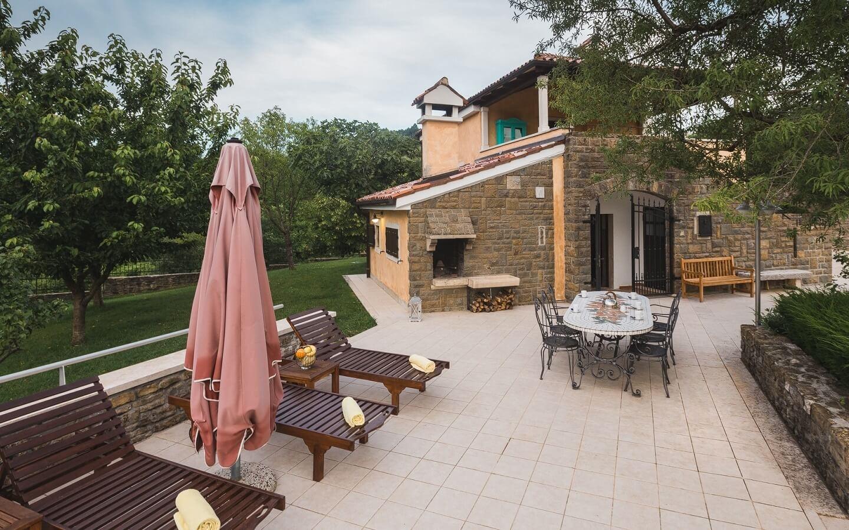 Villa Momjan, Ferienhaus mit Pool in Momjan, Istrien, Kroatien